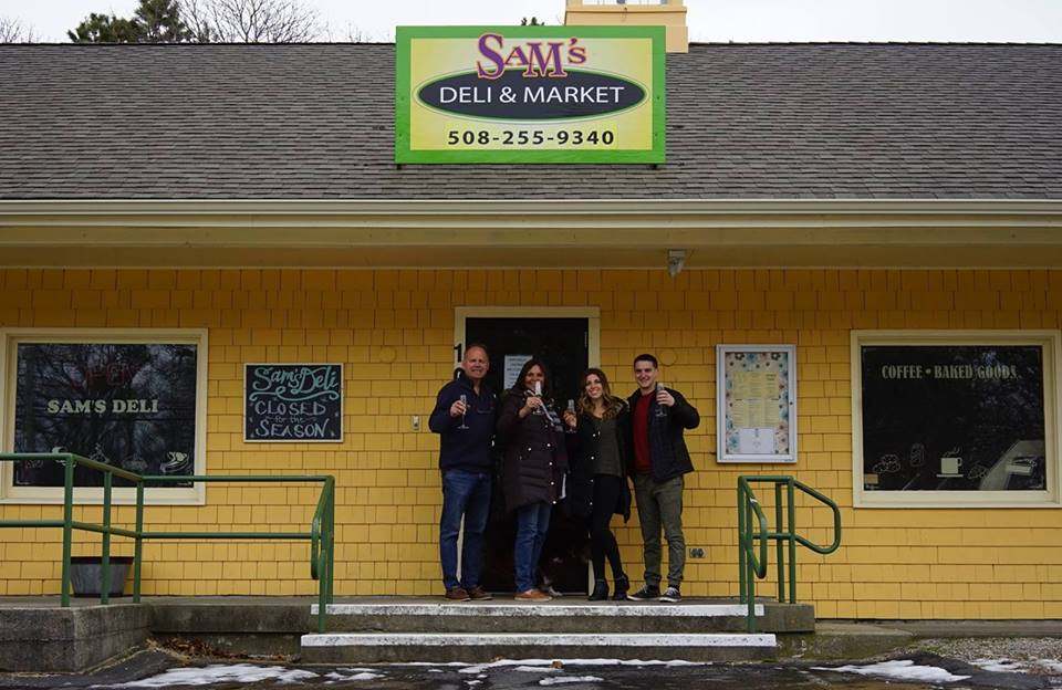 Sam's deli and sandwich shop new owners eastham